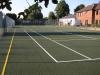 Dark green court