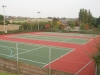 Tile Red / Dark  Green courts
